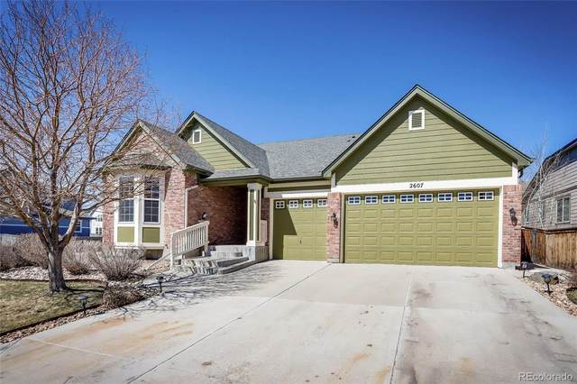 2607 E 142nd Avenue, Thornton, CO 80602 (#9313581) :: The Griffith Home Team