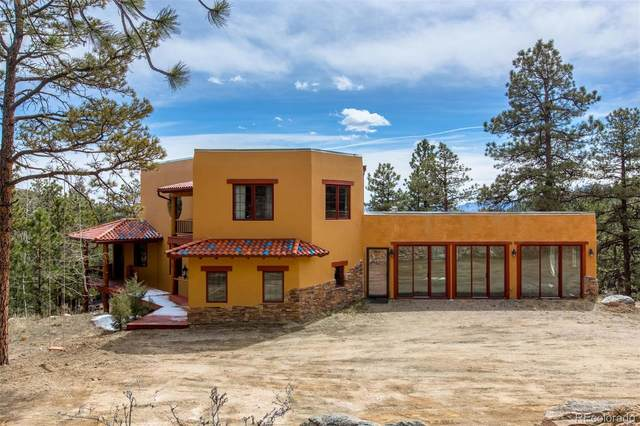 4352 County Road 72, Bailey, CO 80421 (#9354577) :: The DeGrood Team