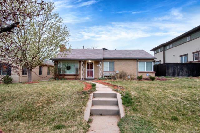 1275 S Saint Paul Street, Denver, CO 80210 (#9398302) :: The Peak Properties Group
