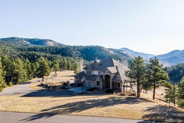 25576 Elk Range Road, Evergreen, CO 80439 (MLS #9764033) :: Wheelhouse Realty
