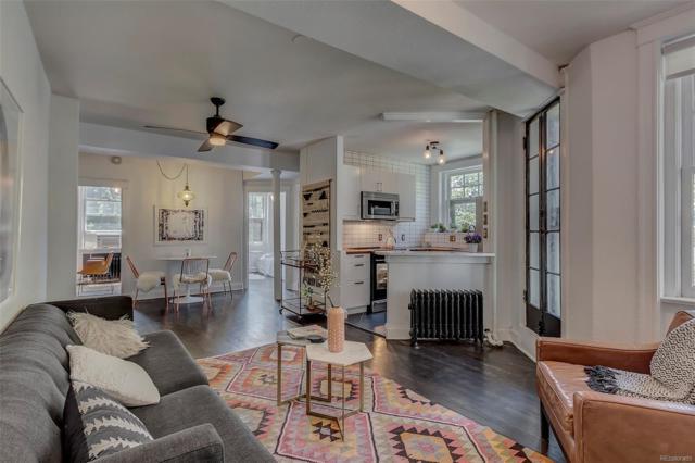 215 E 11TH Avenue C2, Denver, CO 80202 (#9978045) :: The Pete Cook Home Group