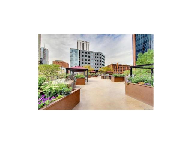 1777 Larimer Street #701, Denver, CO 80202 (MLS #1635341) :: 8z Real Estate
