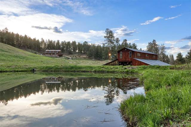 60 N County Highway 67, Sedalia, CO 80135 (#1870170) :: Kimberly Austin Properties