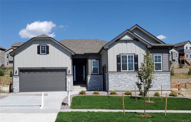 13004 Bridge View Lane, Parker, CO 80134 (MLS #2021232) :: Kittle Real Estate