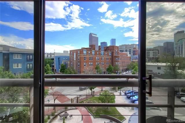 100 Park Avenue W #407, Denver, CO 80205 (#2123535) :: Venterra Real Estate LLC