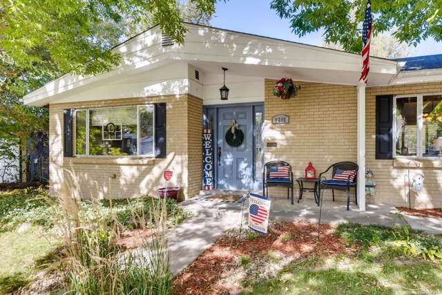 9395 W 9th Avenue, Lakewood, CO 80215 (#2204562) :: The Heyl Group at Keller Williams