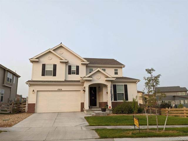 17858 E 108TH Place, Commerce City, CO 80022 (#2775071) :: The DeGrood Team