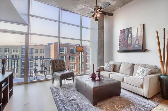 1700 Bassett Street #708, Denver, CO 80202 (#2856240) :: Portenga Properties - LIV Sotheby's International Realty
