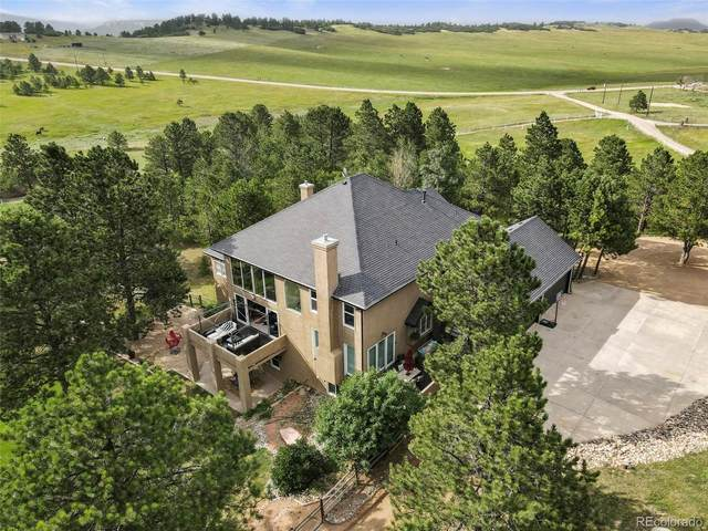 2595 County Line Road, Monument, CO 80132 (#3080024) :: The HomeSmiths Team - Keller Williams