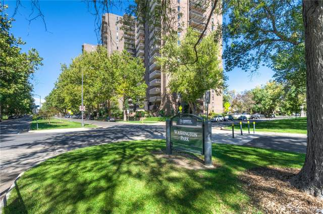 460 S Marion Parkway #1406, Denver, CO 80209 (#3092306) :: The Dixon Group