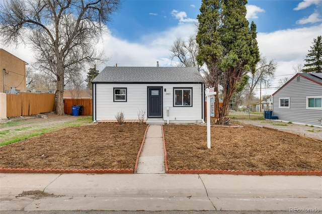 3457 W Hoye Place, Denver, CO 80219 (#3122778) :: HomeSmart Realty Group