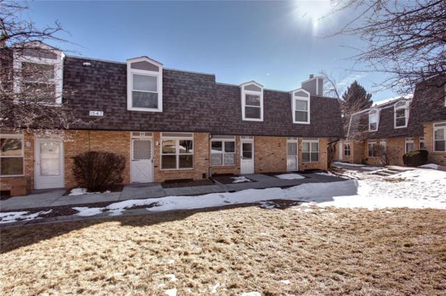 1547 S Owens Street #45, Lakewood, CO 80232 (#3191414) :: The Heyl Group at Keller Williams