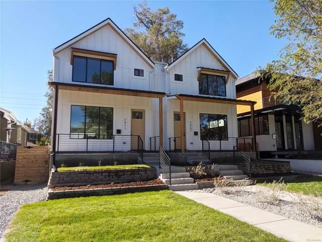 2467 S High Street, Denver, CO 80210 (MLS #3658847) :: 8z Real Estate