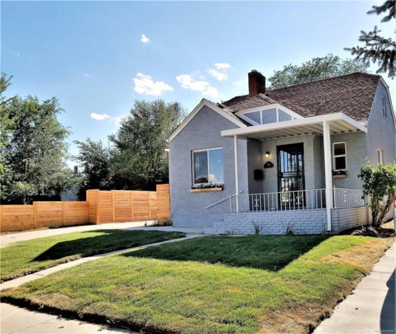 1515 Oneida Street, Denver, CO 80220 (#3848403) :: The Griffith Home Team