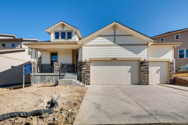 11847 Discovery Circle, Parker, CO 80138 (#4675038) :: The Gilbert Group