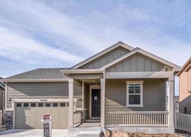 10595 Akron Street, Commerce City, CO 80640 (MLS #4837284) :: 8z Real Estate