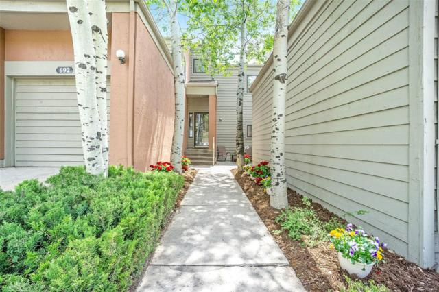 694 Ridgeside Drive, Golden, CO 80401 (#5191917) :: The City and Mountains Group