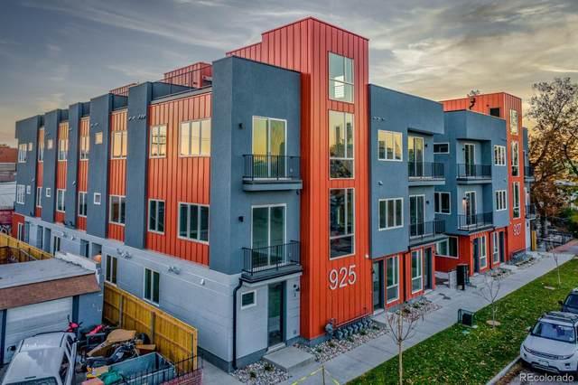 925 N Inca Street #7, Denver, CO 80204 (#5443334) :: Briggs American Properties