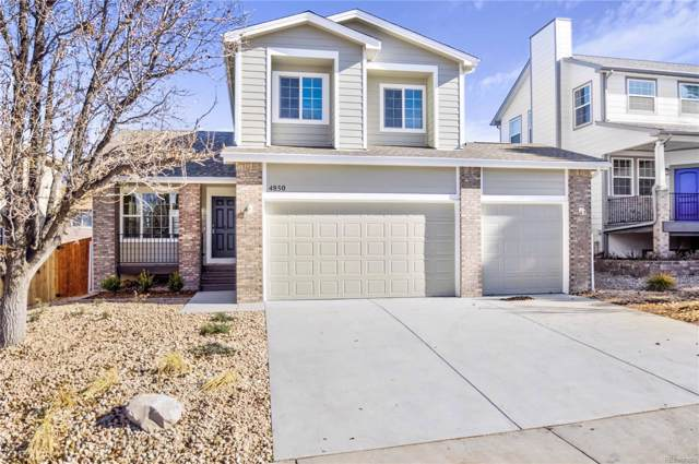 4850 N Foxtail Drive, Castle Rock, CO 80109 (#5602186) :: The HomeSmiths Team - Keller Williams