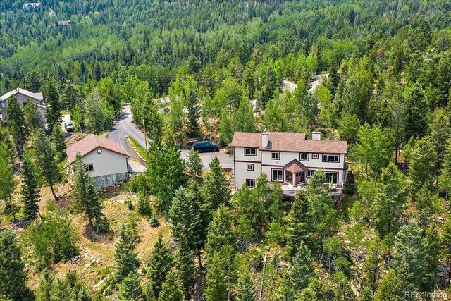 10438 Christopher Drive, Conifer, CO 80433 (#5651376) :: The Griffith Home Team