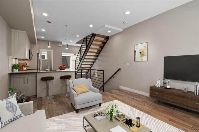 4485 Tennyson Street #2, Denver, CO 80212 (#5758738) :: The Scott Futa Home Team