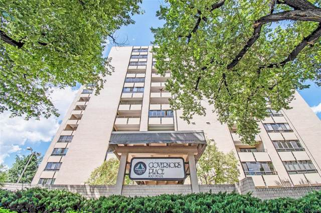 800 Pearl Street #1211, Denver, CO 80203 (MLS #6255959) :: 8z Real Estate