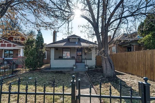 3068 W 38th Avenue, Denver, CO 80211 (#6365572) :: Real Estate Professionals