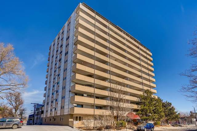 1029 E 8th Avenue #507, Denver, CO 80218 (#6517467) :: The Dixon Group
