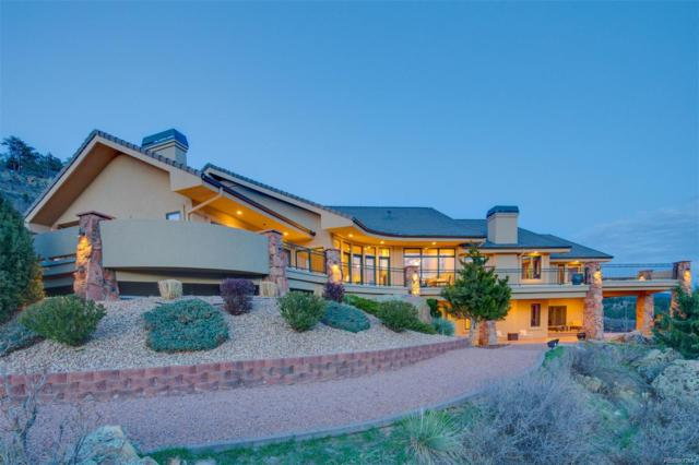5133 Echo Valley Road, Larkspur, CO 80118 (#6580938) :: The Pete Cook Home Group