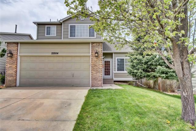 22954 E Dorado Drive, Aurora, CO 80015 (#6763897) :: The Pete Cook Home Group