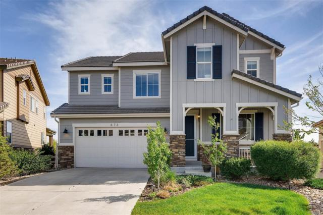 673 Tiger Lily Way, Highlands Ranch, CO 80126 (#6803322) :: The Pete Cook Home Group
