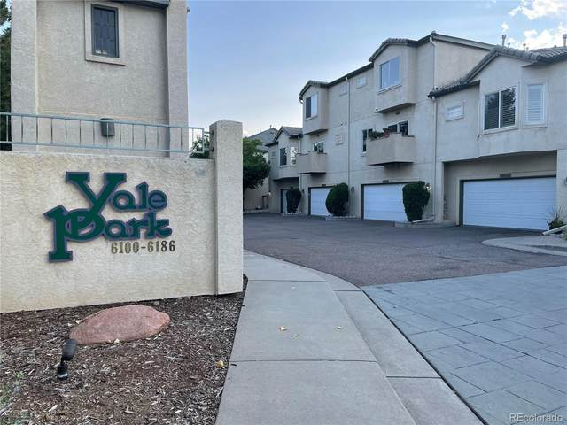 6130 E Yale Avenue, Denver, CO 80222 (#6809345) :: The Colorado Foothills Team | Berkshire Hathaway Elevated Living Real Estate