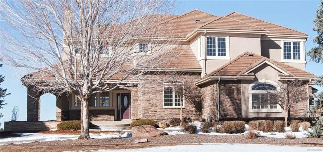 7285 Sagebrush Drive, Parker, CO 80138 (#6818673) :: The Pete Cook Home Group