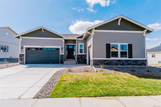 7423 S Scottsburg Way, Aurora, CO 80016 (#6853632) :: The Peak Properties Group