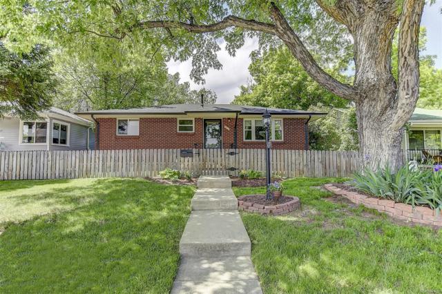 1171 Willow Street, Denver, CO 80220 (#7592267) :: The Galo Garrido Group