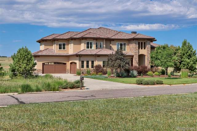 9863 Sara Gulch Circle, Parker, CO 80138 (#7734344) :: The DeGrood Team