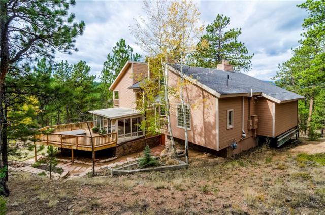 2302 Mount Evans Boulevard, Pine, CO 80470 (#8093030) :: House Hunters Colorado
