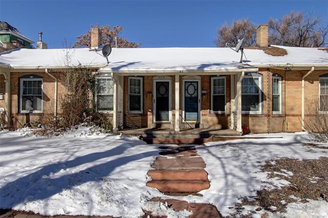 575 N Pennsylvania Street, Denver, CO 80203 (#8198474) :: The HomeSmiths Team - Keller Williams