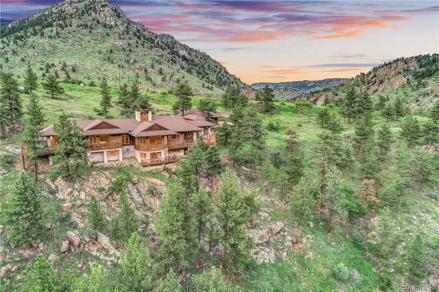 1221 Longmont Dam Road, Lyons, CO 80540 (#8380440) :: The Colorado Foothills Team | Berkshire Hathaway Elevated Living Real Estate