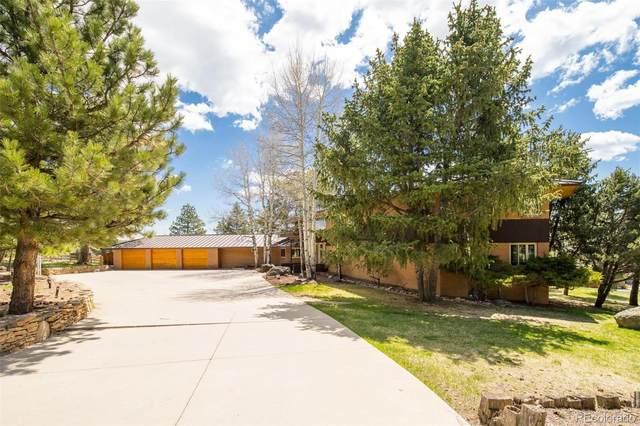 2830 Interlocken Drive, Evergreen, CO 80439 (#8628574) :: Mile High Luxury Real Estate
