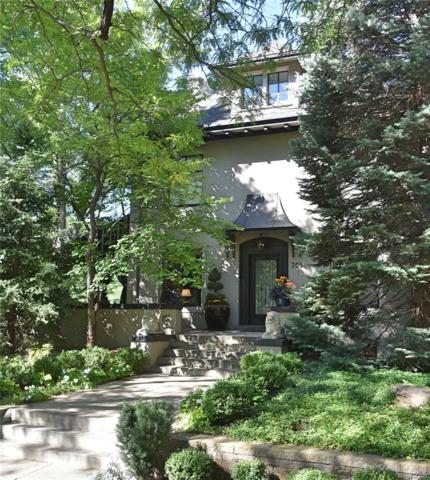 701 N Marion Street, Denver, CO 80218 (#9552494) :: The Peak Properties Group