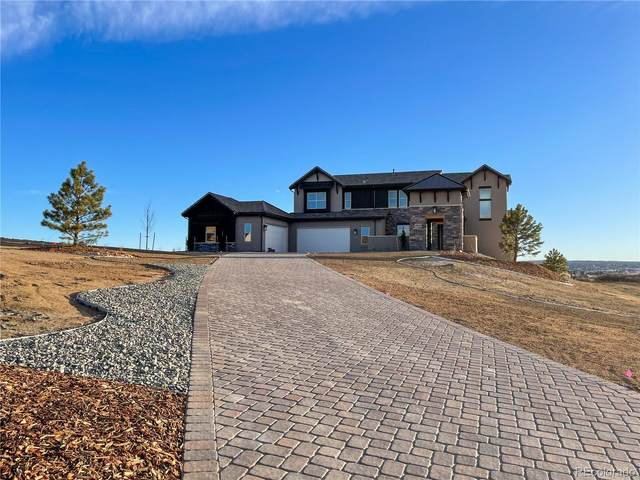 4915 Crescent Moon Place, Parker, CO 80134 (#9987990) :: Venterra Real Estate LLC