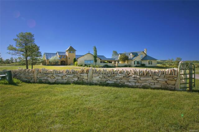 9400 E Jones Road, Larkspur, CO 80118 (MLS #1638836) :: 8z Real Estate