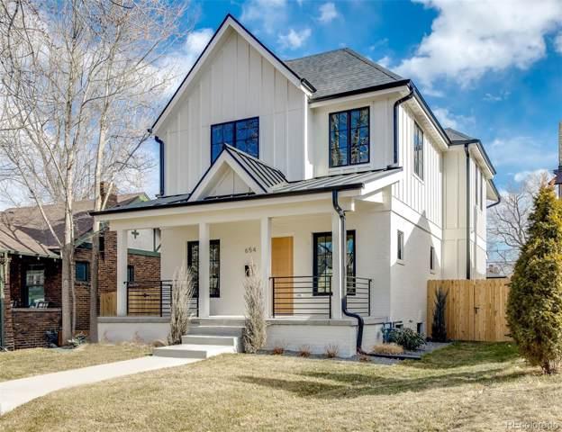 654 S Gilpin Street, Denver, CO 80209 (#1684890) :: Real Estate Professionals