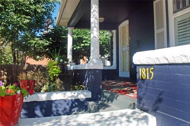 1815 E 22nd Avenue, Denver, CO 80205 (#3053183) :: True Performance Real Estate