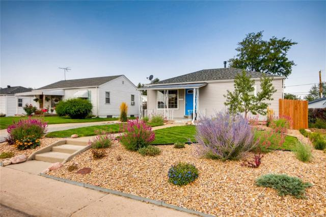 11 S Perry Street, Denver, CO 80219 (#3188423) :: The DeGrood Team