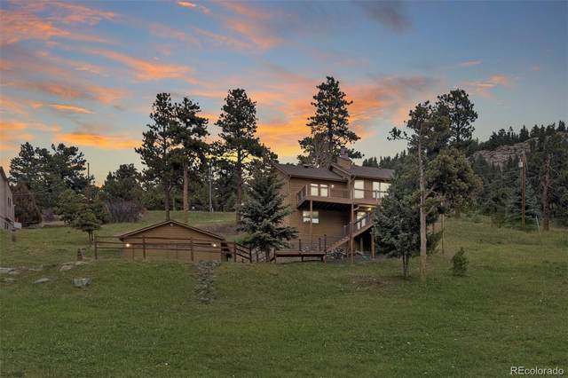 31774 Miwok Trail, Evergreen, CO 80439 (#3267493) :: The HomeSmiths Team - Keller Williams