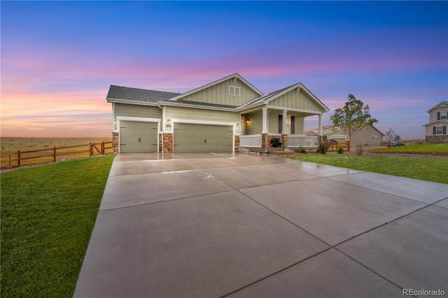 42070 Firestone Circle, Elizabeth, CO 80107 (#4607556) :: HomeSmart Realty Group