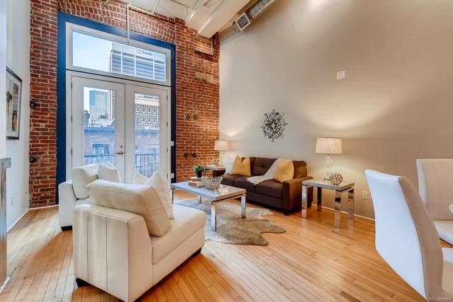 1617 California Street 2E, Denver, CO 80202 (#4622199) :: True Performance Real Estate