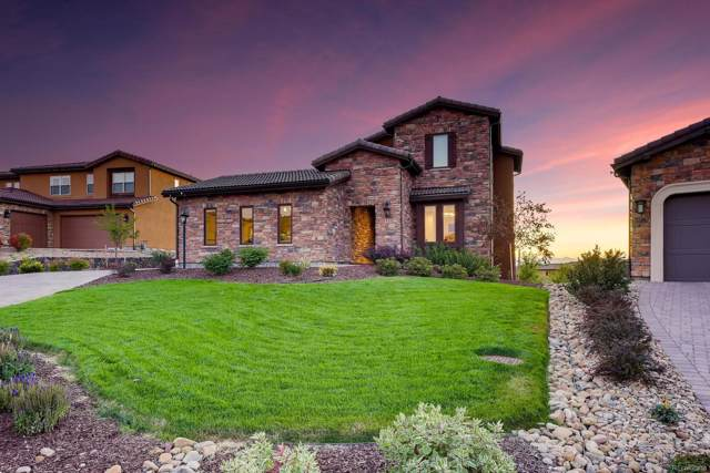 9405 Vista Hill Way, Lone Tree, CO 80124 (#4947716) :: The HomeSmiths Team - Keller Williams